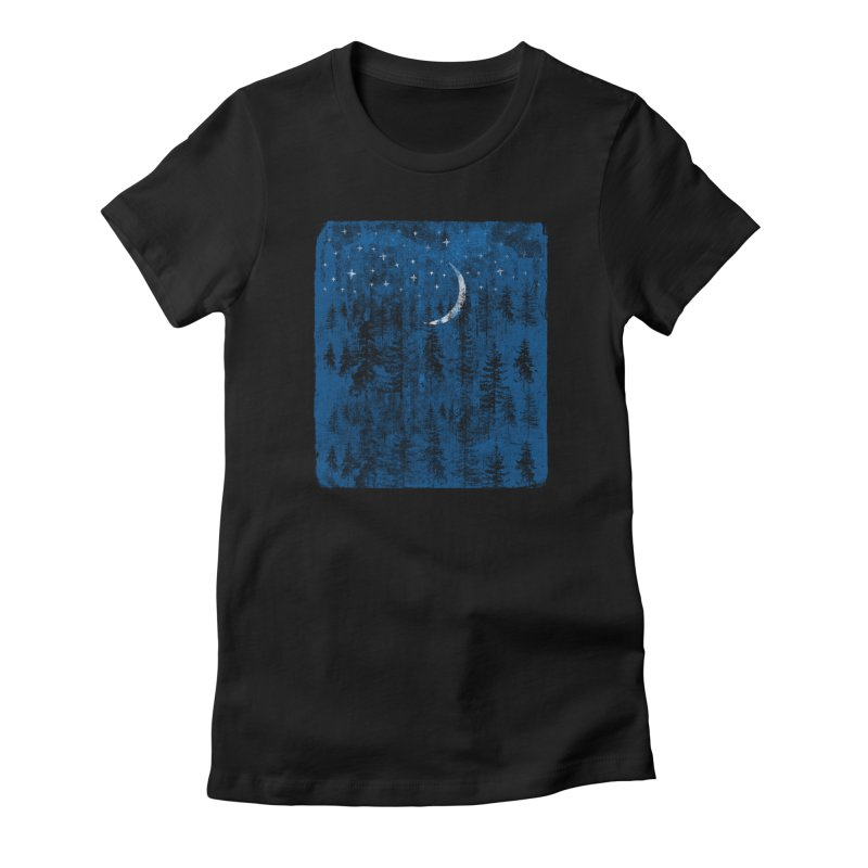 Blue Forest Women's T-Shirt by bulo