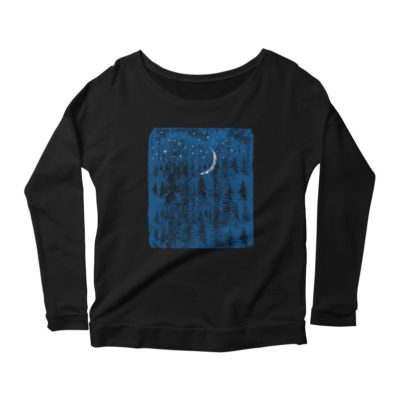 Blue Forest Women's Scoop Neck Longsleeve T-Shirt by bulo