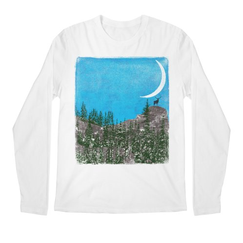 image for Lonely Deer - Turquoise Night version