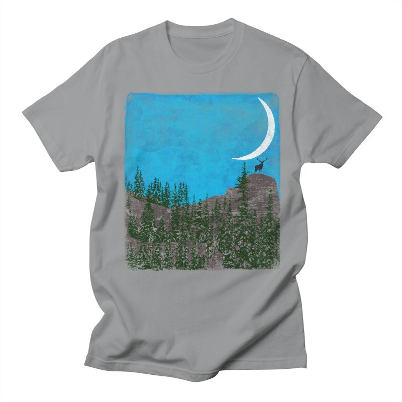 Lonely Deer - Turquoise Night version Women's Regular Unisex T-Shirt by bulo