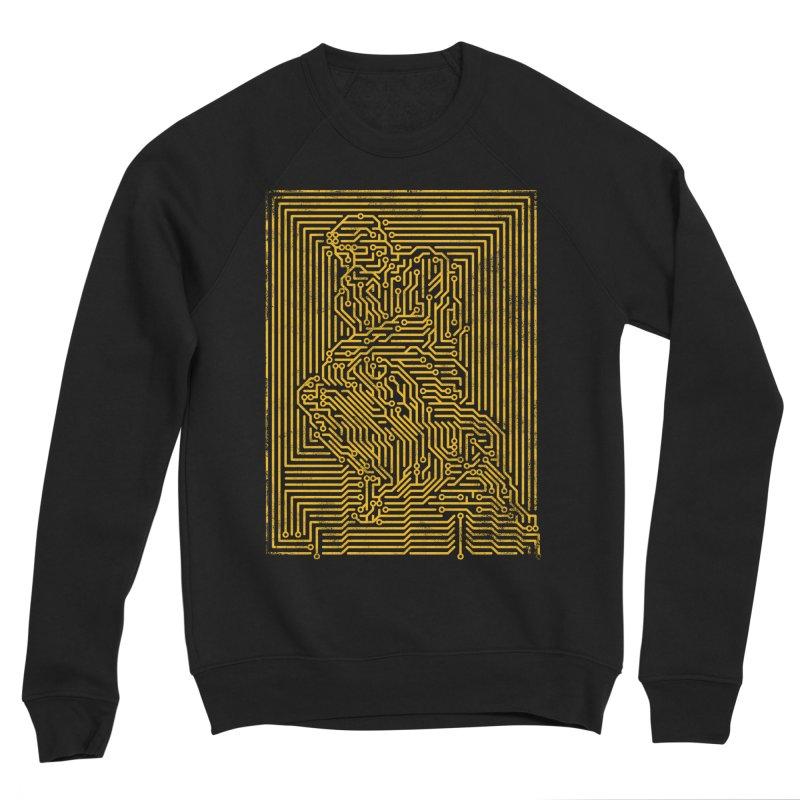 Artificial Intelligence V.2 Men's Sponge Fleece Sweatshirt by bulo