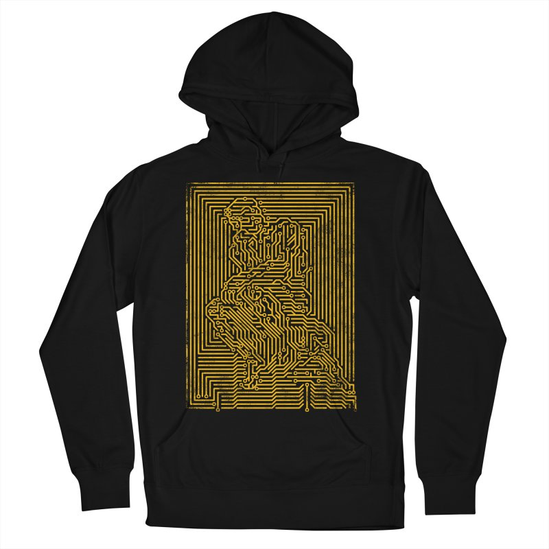 Artificial Intelligence V.2 Men's French Terry Pullover Hoody by bulo