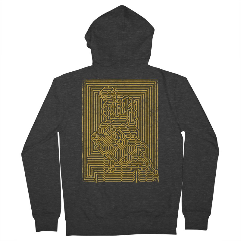 Artificial Intelligence V.2 Women's French Terry Zip-Up Hoody by bulo
