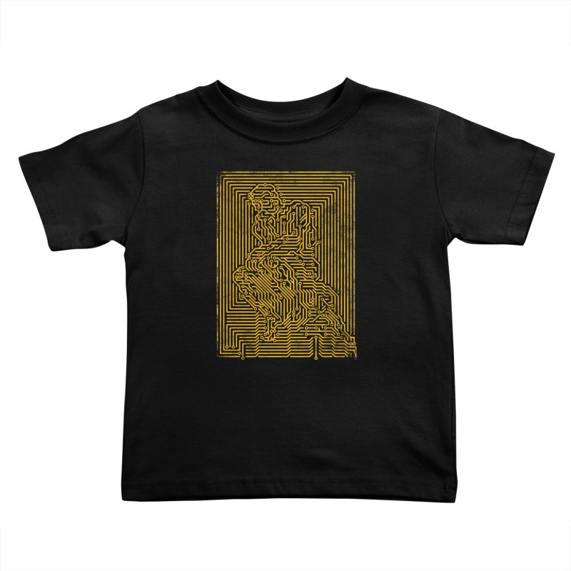 Artificial Intelligence V.2 Kids Toddler T-Shirt by bulo