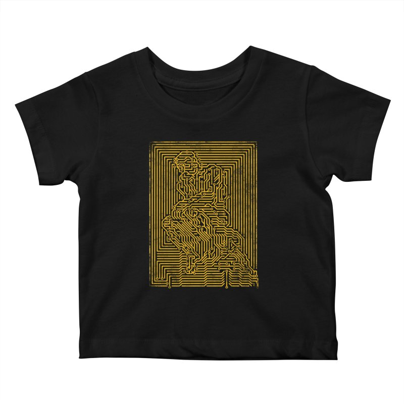 Artificial Intelligence V.2 Kids Baby T-Shirt by bulo