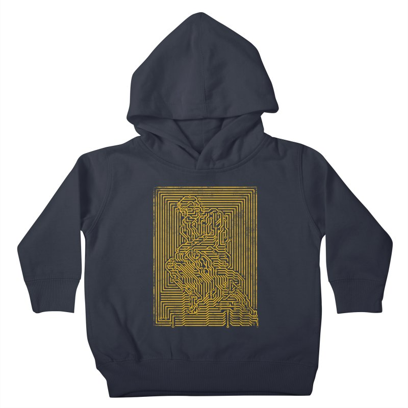 Artificial Intelligence V.2 Kids Toddler Pullover Hoody by bulo