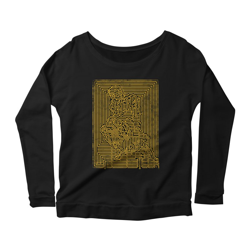 Artificial Intelligence V.2 Women's Scoop Neck Longsleeve T-Shirt by bulo