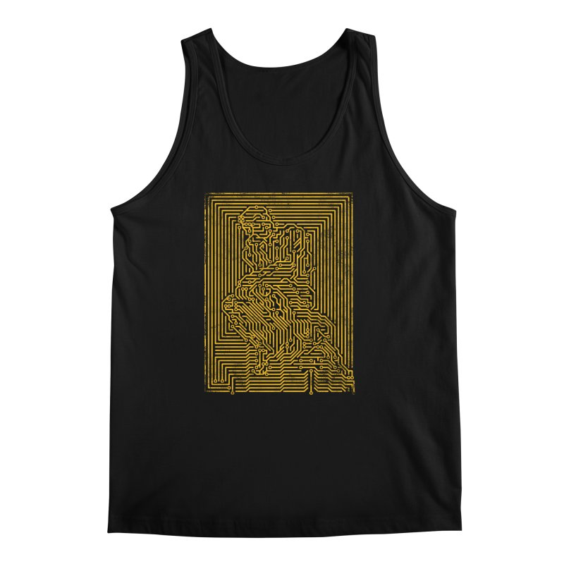 Artificial Intelligence V.2 Men's Regular Tank by bulo