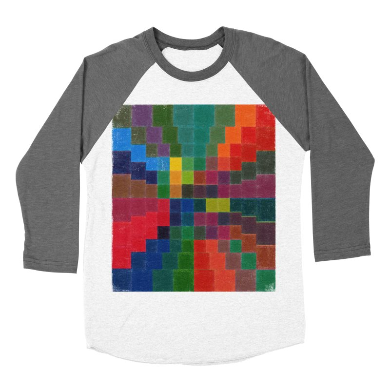 Synesthesia Men's Baseball Triblend Longsleeve T-Shirt by bulo