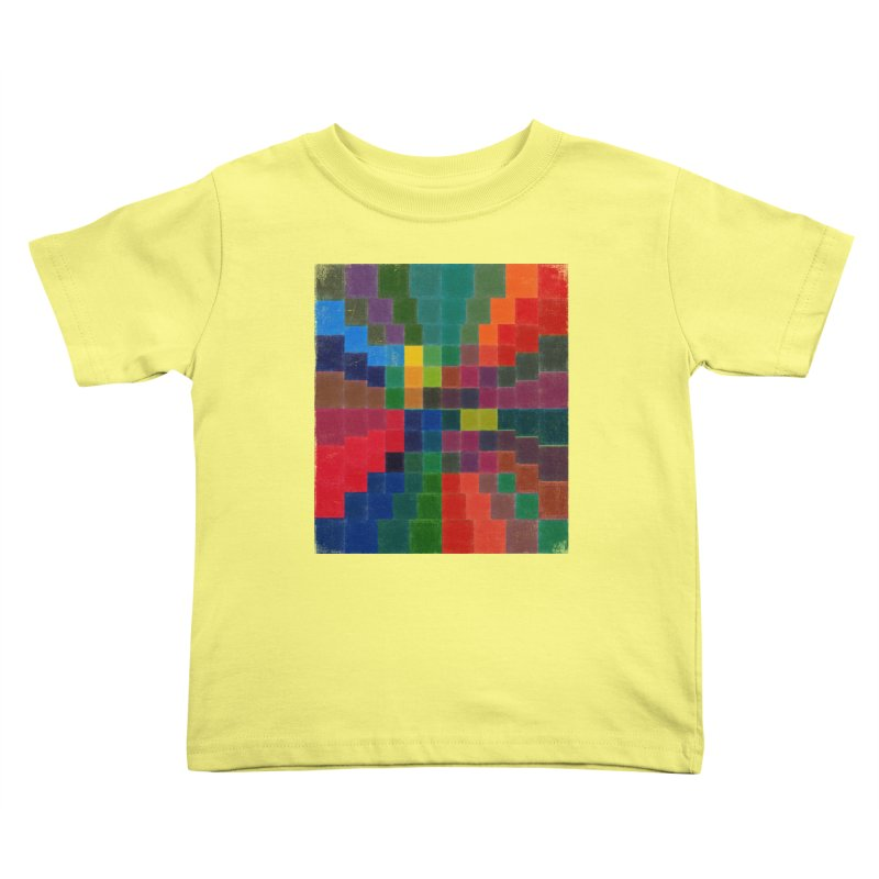 Synesthesia Kids Toddler T-Shirt by bulo