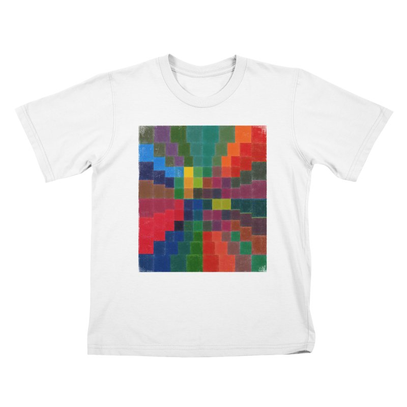 Synesthesia Kids T-Shirt by bulo