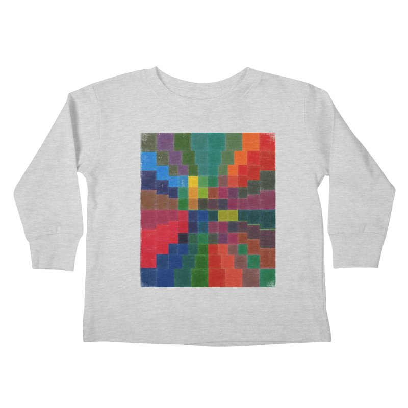 Synesthesia Kids Toddler Longsleeve T-Shirt by bulo
