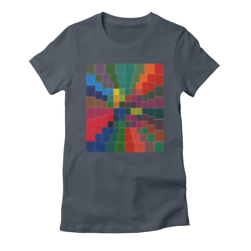 Synesthesia Women's Fitted T-Shirt by bulo