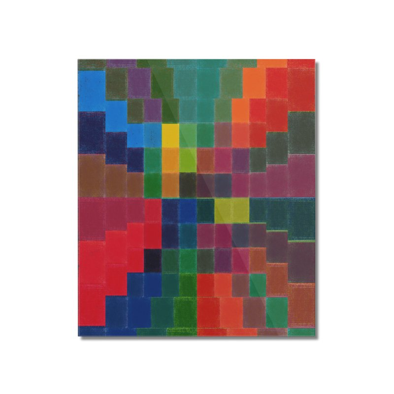 Synesthesia Home Mounted Acrylic Print by bulo