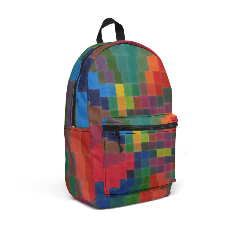 Synesthesia Accessories Backpack Bag by bulo