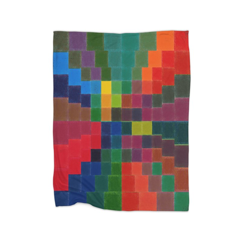 Synesthesia Home Fleece Blanket Blanket by bulo