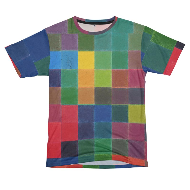 Synesthesia Women's Unisex French Terry T-Shirt Cut & Sew by bulo