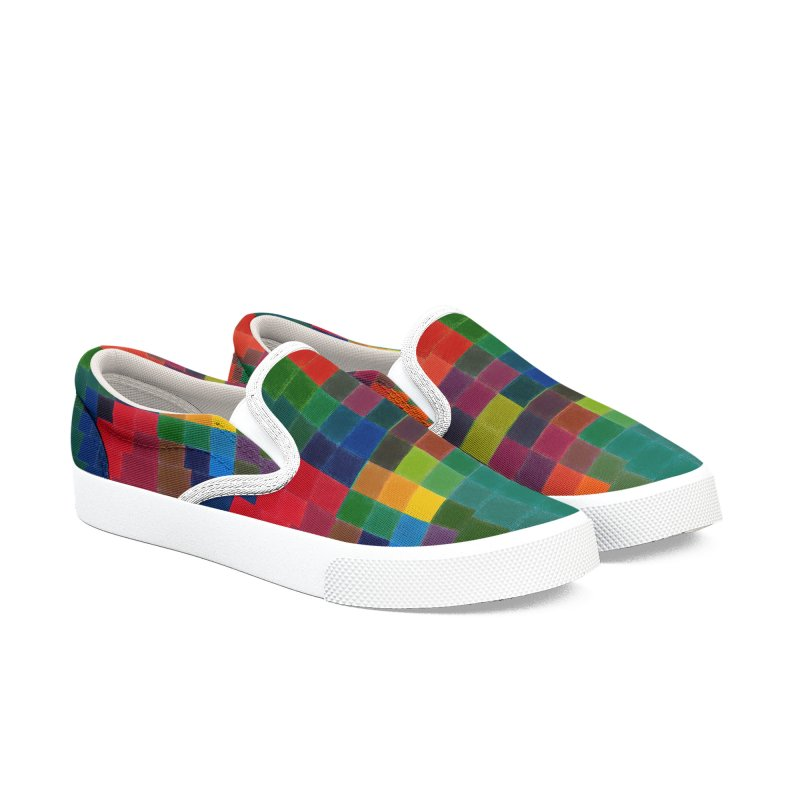 Synesthesia Men's Slip-On Shoes by bulo