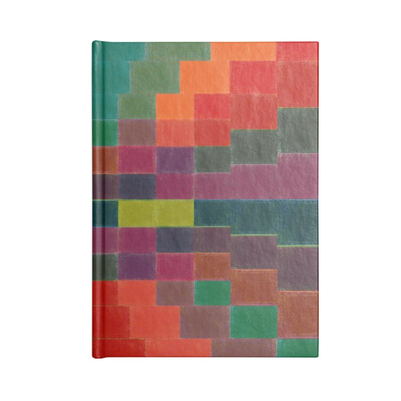 Synesthesia Accessories Blank Journal Notebook by bulo