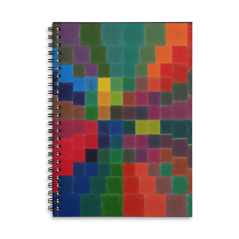 Synesthesia Accessories Lined Spiral Notebook by bulo