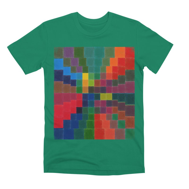 Synesthesia in Men's Premium T-Shirt Evergreen by bulo