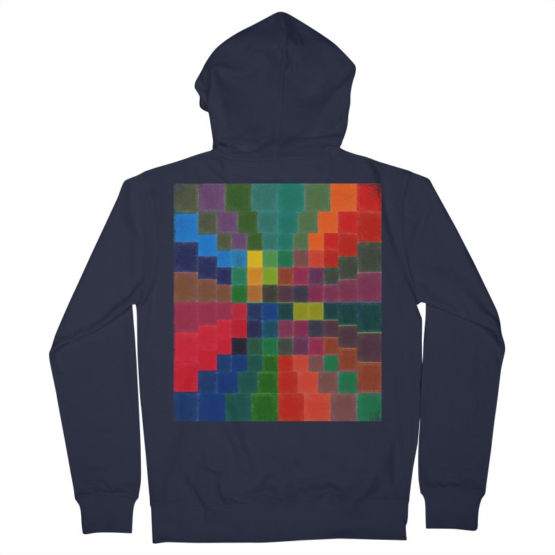 Synesthesia Men's French Terry Zip-Up Hoody by bulo