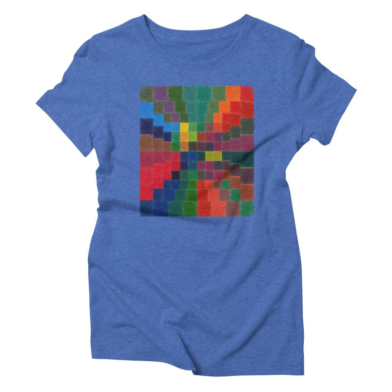 Synesthesia Women's Triblend T-Shirt by bulo