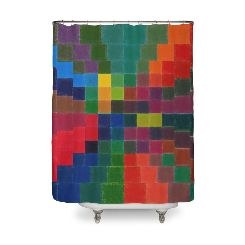Synesthesia Home Shower Curtain by bulo