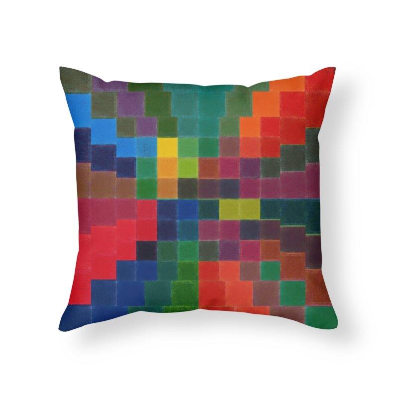 Synesthesia Home Throw Pillow by bulo