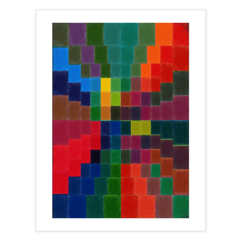 Synesthesia Home Fine Art Print by bulo