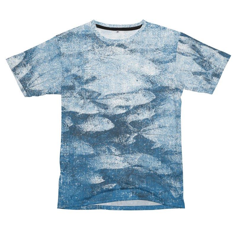 Undersea (rework) Men's Cut & Sew by bulo