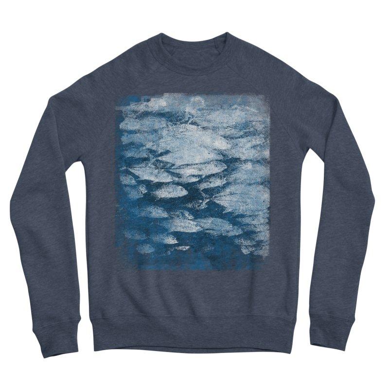 Undersea (rework) Men's Sponge Fleece Sweatshirt by bulo