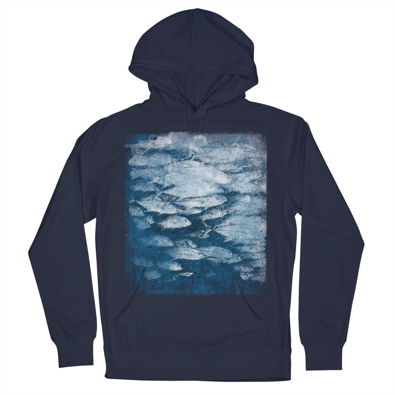 Undersea (rework) Men's French Terry Pullover Hoody by bulo
