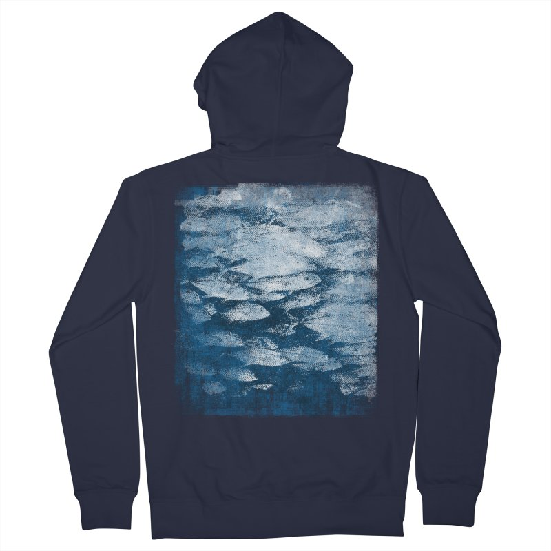 Undersea (rework) Women's French Terry Zip-Up Hoody by bulo