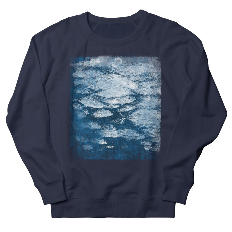 Undersea (rework) Women's French Terry Sweatshirt by bulo