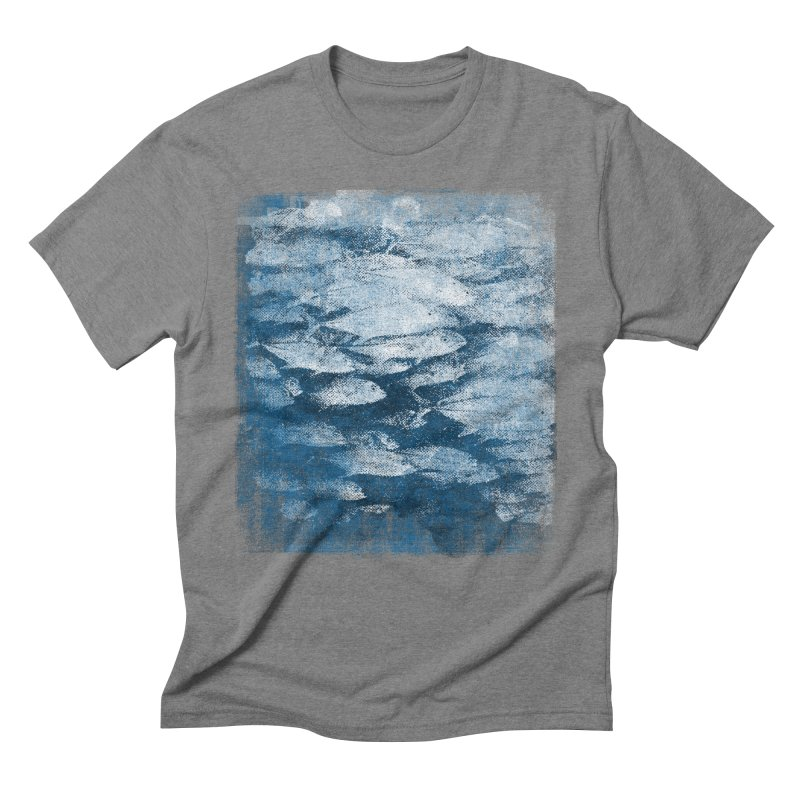 Undersea (rework) Men's Triblend T-Shirt by bulo