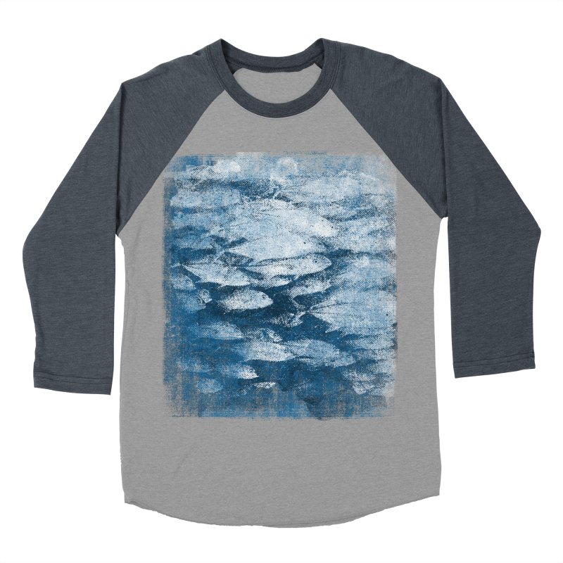 Undersea (rework) Women's Baseball Triblend Longsleeve T-Shirt by bulo