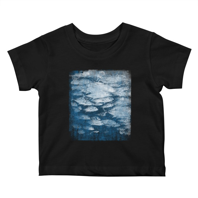 Undersea (rework) Kids Baby T-Shirt by bulo
