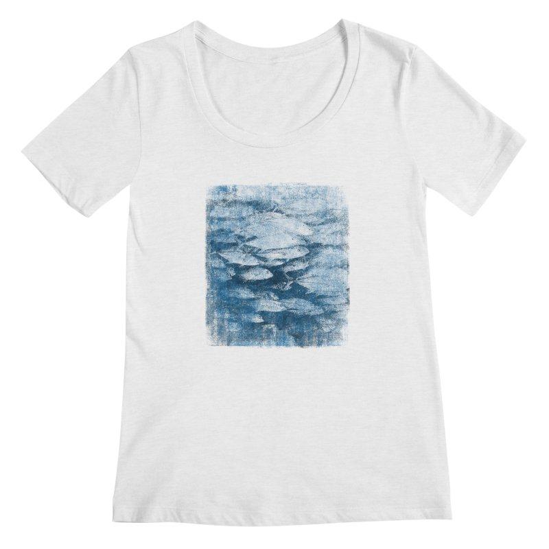 Undersea (rework) Women's Regular Scoop Neck by bulo