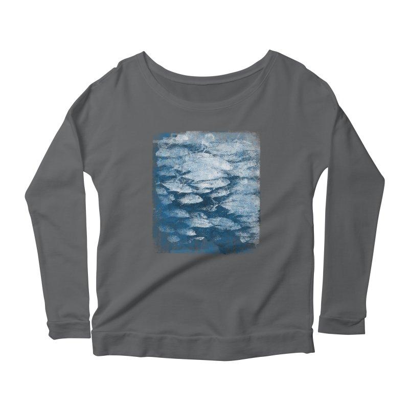 Undersea (rework) Women's Scoop Neck Longsleeve T-Shirt by bulo