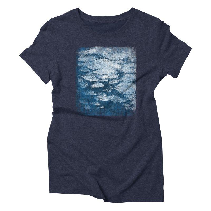 Undersea (rework) Women's Triblend T-Shirt by bulo