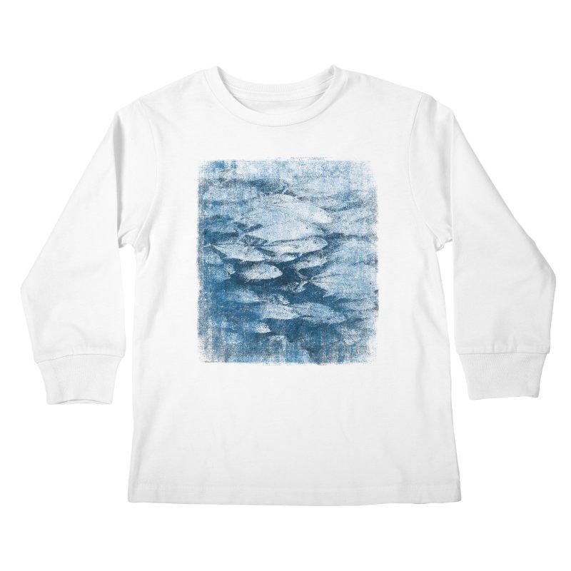 Undersea (rework) Kids Longsleeve T-Shirt by bulo