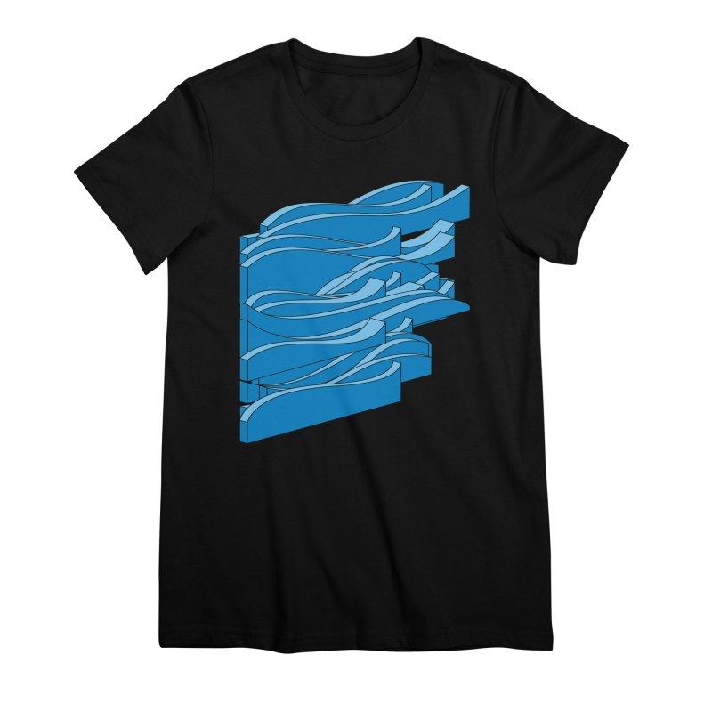 Just Waves Women's Premium T-Shirt by bulo
