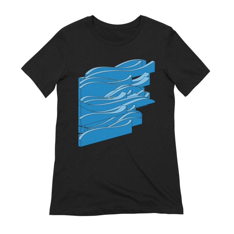 Just Waves Women's Extra Soft T-Shirt by bulo