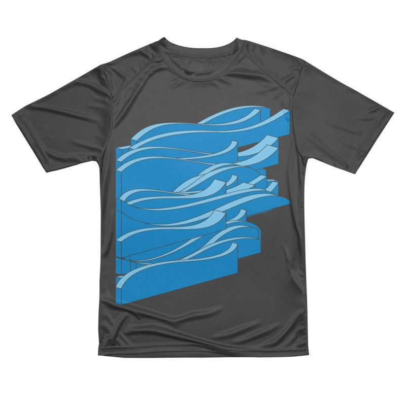 Just Waves Women's Performance Unisex T-Shirt by bulo