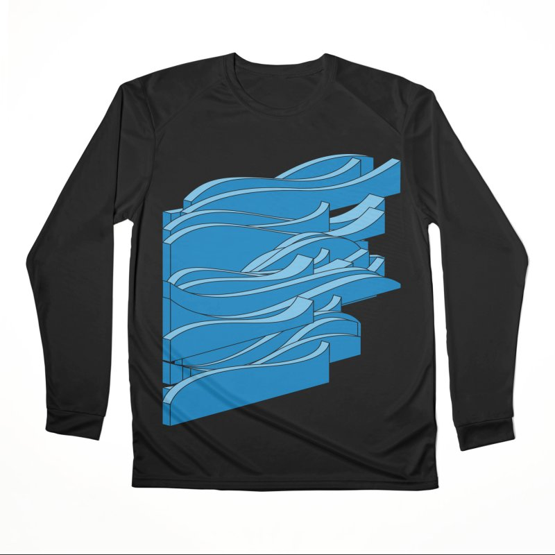 Just Waves Men's Performance Longsleeve T-Shirt by bulo