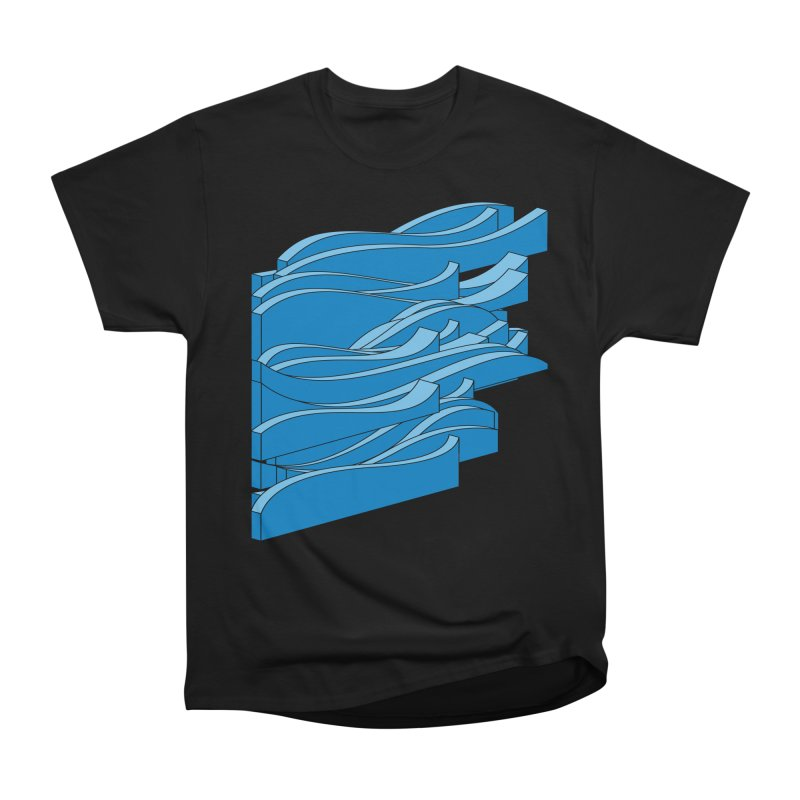 Just Waves Men's Heavyweight T-Shirt by bulo