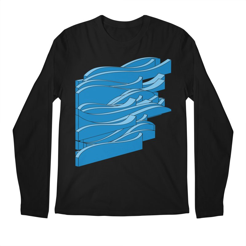 Just Waves Men's Regular Longsleeve T-Shirt by bulo