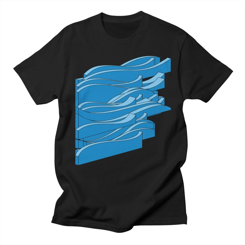 Just Waves Men's Regular T-Shirt by bulo