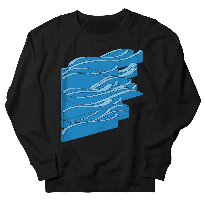 Just Waves Men's French Terry Sweatshirt by bulo